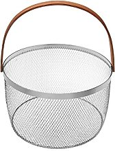 Versa Basket with Handle modern 25x15x30 cm