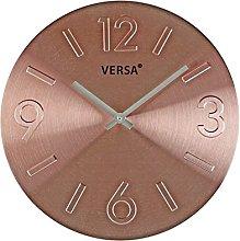 Versa Clock, Aluminium, 35.5x 4x 35.5