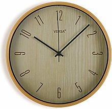 Versa Kitchen Clock Light Wood 30 cm