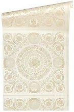 Versace Heritage Cream Wallpaper