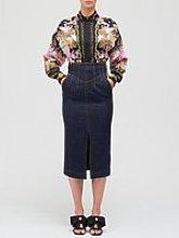 Versace Jeans Couture High Waist Denim Pencil