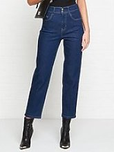 Versace Jeans Couture Straight Slim Jeans - Indigo
