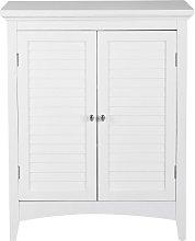 Versanora Wooden Cupboard Free Standing Bathroom