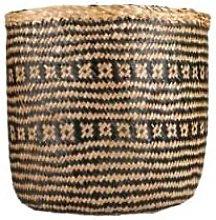 Versmissen - 2/set Black/White Seagrass Basket