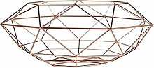 Vertex Fruit Basket 39 cm - Copper Plated