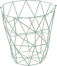 Vertex Fruit Basket, Green Finish Canora Grey