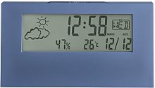 Vertex LCD Weather Station Tabletop Clock Acctim