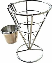Vertical Egg Basket for French Fries Cone Shaped