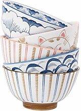 vertice Household Storage Bowls Ceramic Tableware