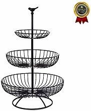vertice Metal Wire Fruit Basket Metal Wire Fruit