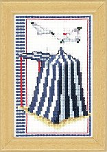 Vervaco Beach Tent Counted Cross Stitch Kit,