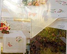 Vervaco Counted Cross Stitch: Runner: Butterflies,