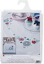 Vervaco Embroidery Kit: Runner: Modern Flowers,