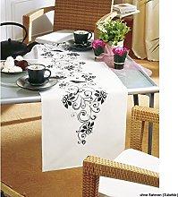 Vervaco Embroidery: Runner: Blackwork, 100%