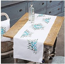 Vervaco Embroidery: Runner: Modern Flowers, 100%