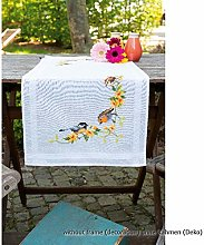 Vervaco Printed Table Runner Embroidery Kit,