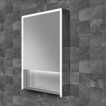 Verve 50 LED Single Door Bathroom Cabinet 900mm H