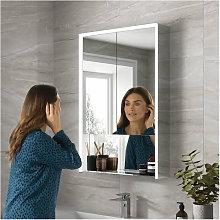 Verve 60 LED Double Door Bathroom Cabinet 900mm H