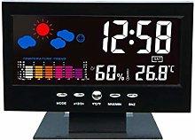 Verve Jelly Weather Station Forecast Clock,