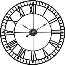 Very Large Wall Clocks 80cm, Big Watch, Metal