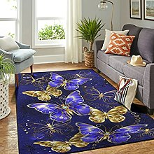 Veryday Butterfly Rug Decorative Living Room Rug