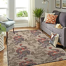 Veryday Chinese Dragon Cloud Rug Decorative Living