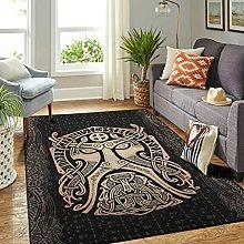 Veryday Viking Odin Vintage Living Room Rug as