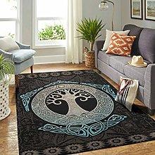 Veryday Viking Tree of Life Rug Modern Living Room