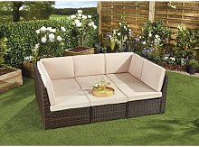 Vesely Garden Sofa with Cushions Sol 72 Outdoor