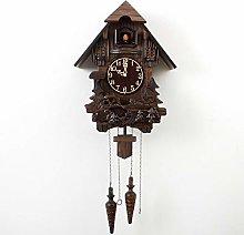 VESIFA Solid wood carved Cuckoo Wall Clock Cuckoo