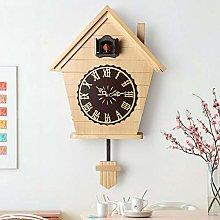 VESIFA Wood Cuckoo Wall Clock simple cuckoo clock