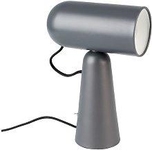 Vesper dark grey color Desk lamp