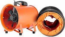 VEVOR 12 Inch(5m) Extractor Fan Blower Portable 5m