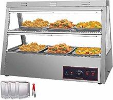VEVOR 43-Inch Commercial Food Warmer Display