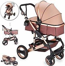 VEVOR Baby Strollers 2 in 1 Portable Infant Baby