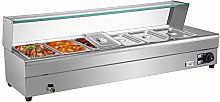 VEVOR Bain Marie Food Warmer 6-Pan, Commercial