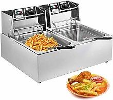 VEVOR Commercial Deep Fryer 12L Electric Fryer