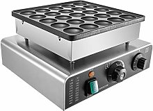 VEVOR Commercial Dutch Pancake Maker 25pcs Waffle