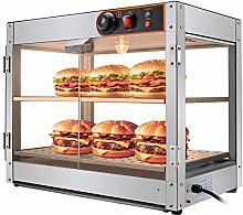 VEVOR Commercial Food Warmer 15-Inch Pizza Warmer
