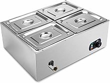 VEVOR Commercial Food Warmer 4-Pan 850W Electric