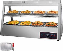 VEVOR Commercial Food Warmer 48-Inch Pizza Warmer