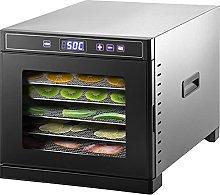 VEVOR Food Dehydrator Machine, 6 Tray Stainless