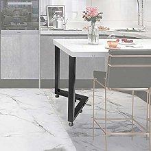 VEVOR Metal Table Legs Set of 2 Dining Table Legs