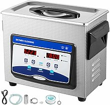 VEVOR Ultrasonic Cleaner 3.2L Jewelry Cleaning