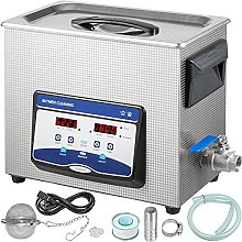 VEVOR Ultrasonic Cleaner 6.5L Jewelry Cleaning