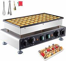 VEVOR Waffle Pancake Machine 50pcs Waffle Pancake