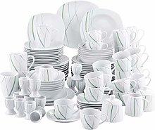 VEWEET 'Aviva' 100-Piece Porcelain Dinner