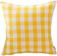 VFDH Throw Pillow Cushion Set, Square Simple Soft,