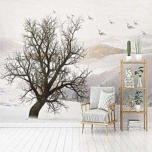 VGFGI 3D Elk Flying Bird Natural Scenery TV Sofa