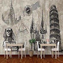 VGFGI 3D Mural Mural PVC Self Adhesive Wallpaper